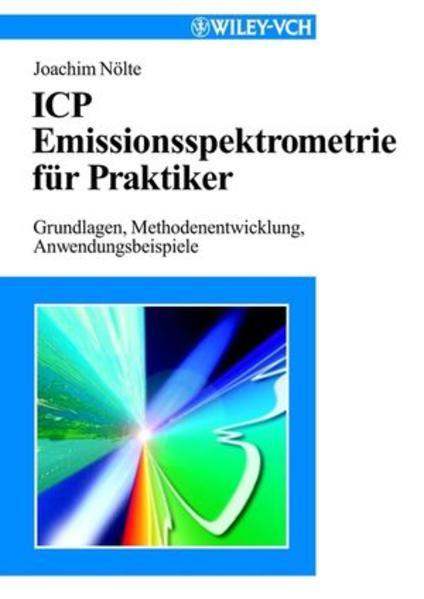 ICP Emissionsspektrometrie für Praktiker - Coverbild