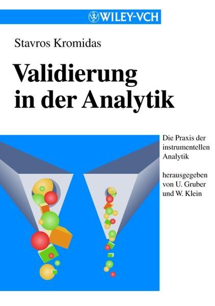 Validierung in der Analytik - Coverbild