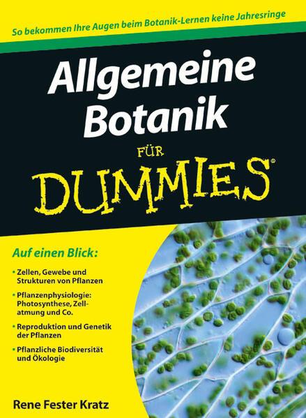 Allgemeine Botanik für Dummies - Coverbild