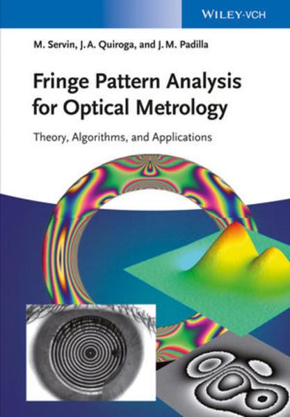 Fringe Pattern Analysis for Optical Metrology - Coverbild