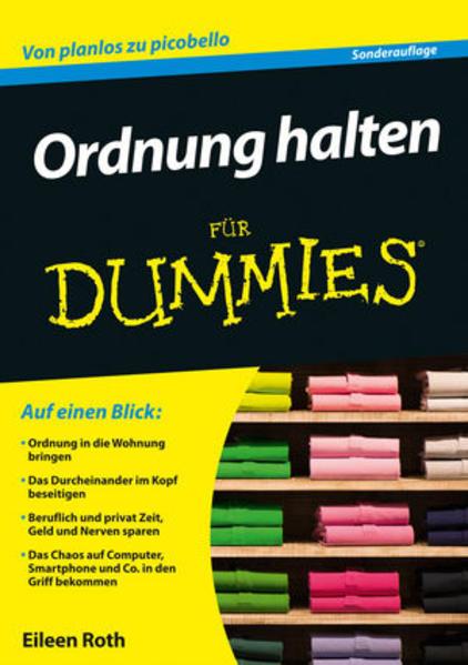 Ordnung halten für Dummies - Coverbild