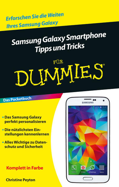 Samsung Galaxy Smartphone Tipps und Tricks für Dummies - Coverbild