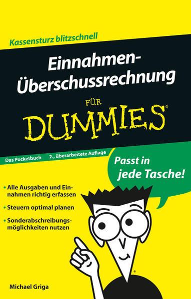 Einnahmen-Überschussrechnung für Dummies Das Pocketbuch - Coverbild