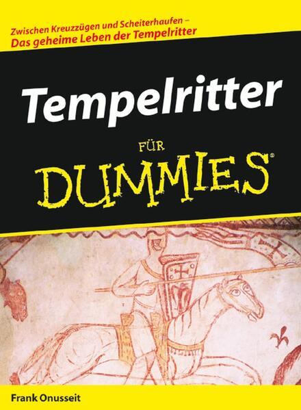 Tempelritter für Dummies - Coverbild