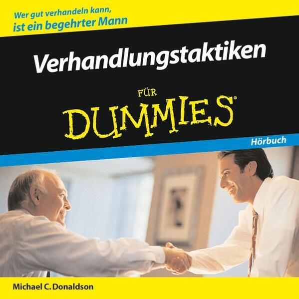 Verhandlungstaktiken für Dummies Hörbuch - Coverbild