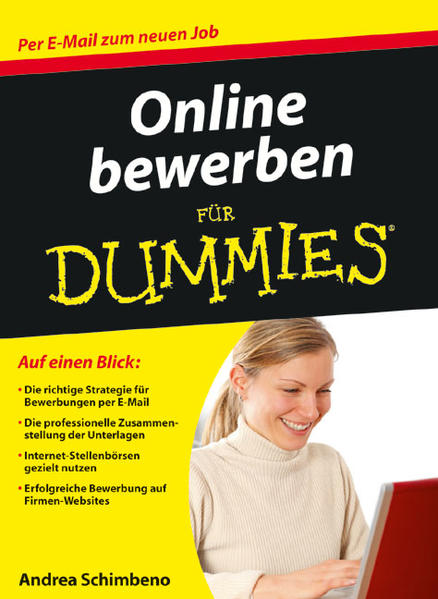 Online bewerben für Dummies - Coverbild