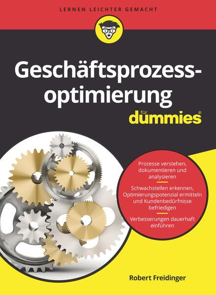 Geschäftsprozessoptimierung für Dummies - Coverbild