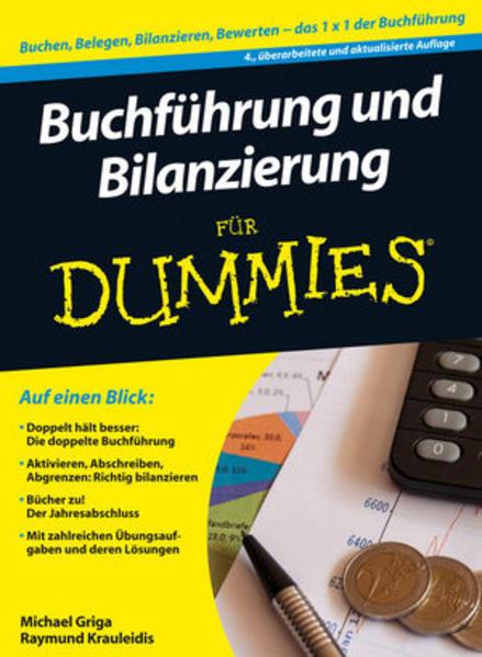 Buchführung und Bilanzierung für Dummies - Coverbild