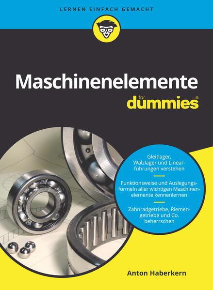 Maschinenelemente für Dummies - Coverbild