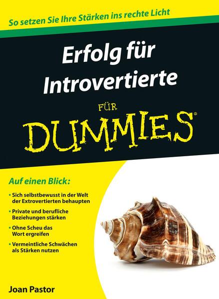 Erfolg für Introvertierte für Dummies - Coverbild