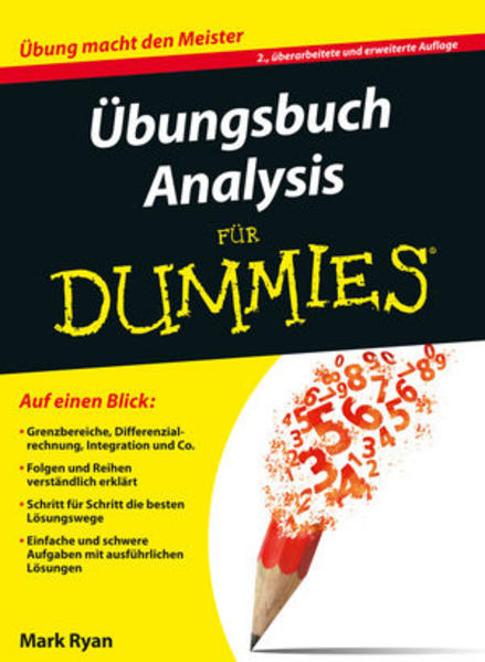 Übungsbuch Analysis - Coverbild