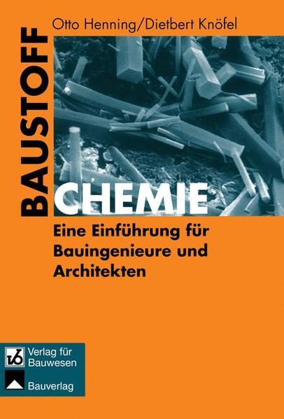 Baustoffchemie - Coverbild