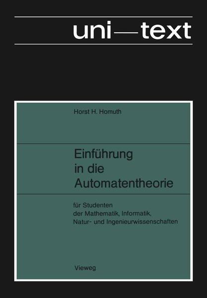 Einführung in die Automatentheorie - Coverbild