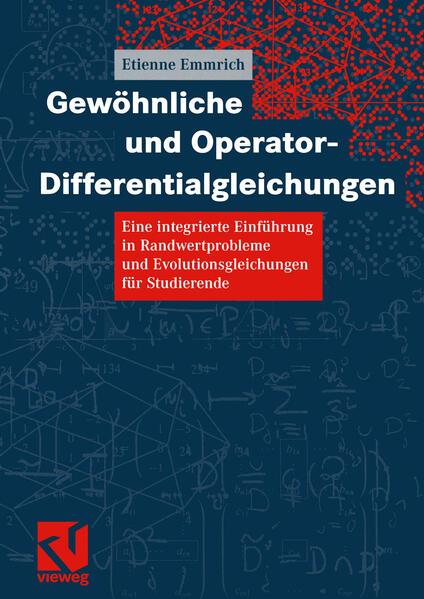 Gewöhnliche und Operator-Differentialgleichungen - Coverbild