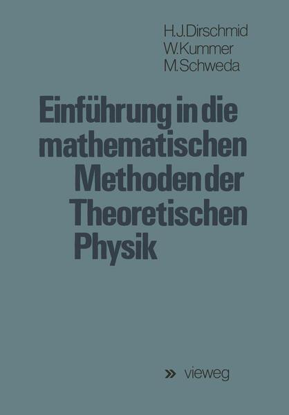 Einführung in die mathematischen Methoden der Theoretischen Physik - Coverbild