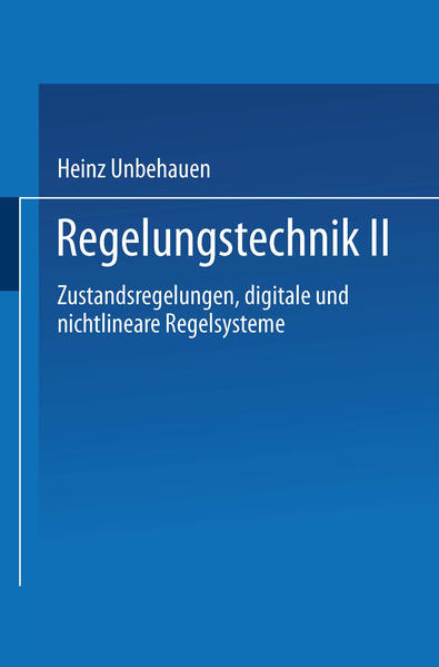 Regelungstechnik II - Coverbild