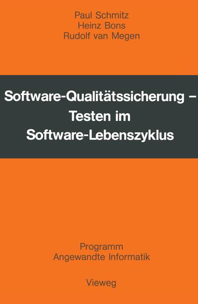 Software-Qualitätssicherung - Coverbild