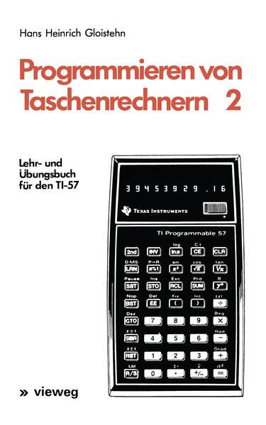Programmieren von Taschenrechnern 2 - Coverbild