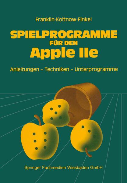 Spielprogramme für den APPLE IIe - Coverbild