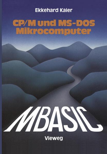 MBASIC-Wegweiser für Mikrocomputer unter CP/M und MS-DOS - Coverbild