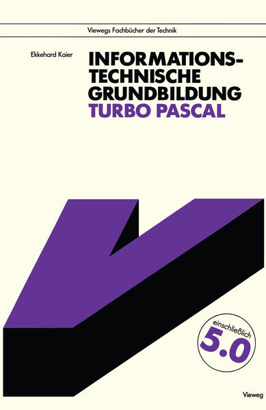 Informationstechnische Grundbildung Turbo Pascal - Coverbild