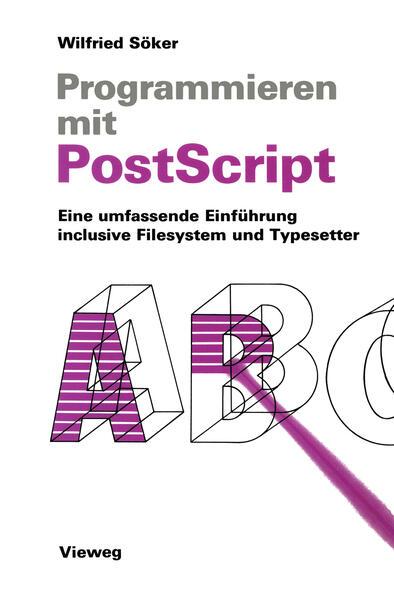 Programmieren mit PostScript - Coverbild