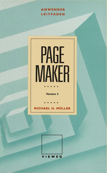 Anwenderleitfaden PageMaker - Coverbild