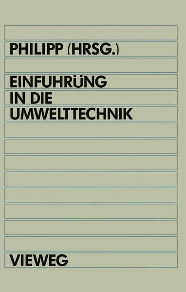 Einführung in die Umwelttechnik - Coverbild