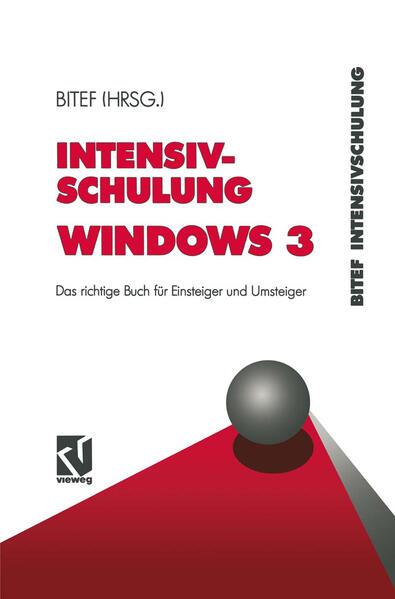 Intensivschulung Windows 3 - Coverbild