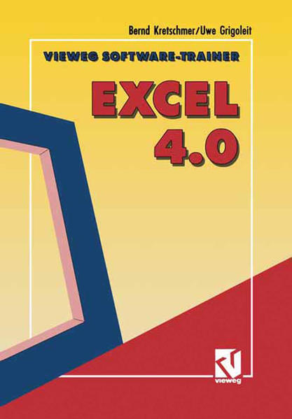 Vieweg Software-Trainer Excel 4.0 - Coverbild