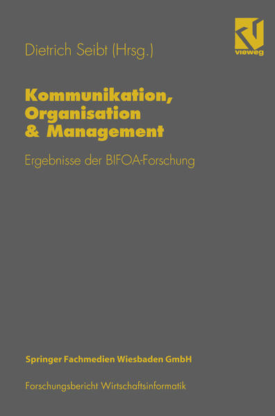 Kommunikation, Organisation & Management - Coverbild
