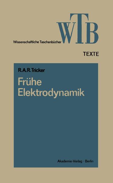 Frühe Elektrodynamik Laden Sie Das Kostenlose PDF Herunter