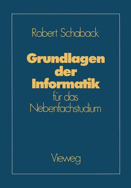 Grundlagen der Informatik - Coverbild