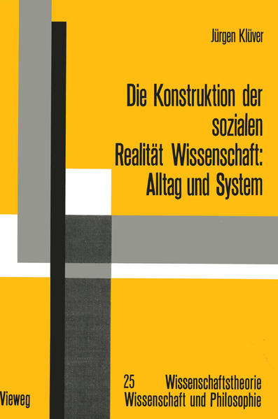 Die Konstruktion der sozialen Realität Wissenschaft - Coverbild