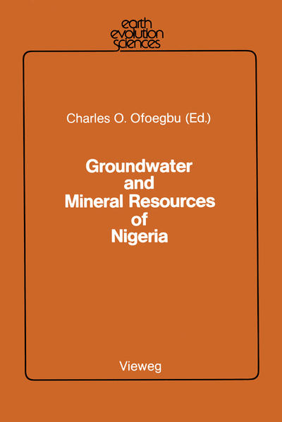 Groundwater and Mineral Resources of Nigeria - Coverbild