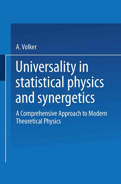 Universality in Statistical Physics and Synergetics - Coverbild