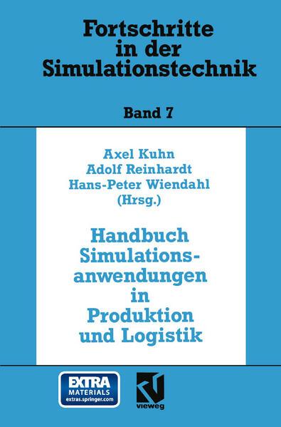 Handbuch Simulationsanwendungen in Produktion und Logistik - Coverbild