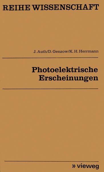 Photoelektrische Erscheinungen - Coverbild