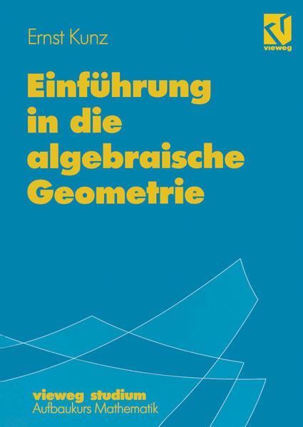 Einführung in die algebraische Geometrie - Coverbild
