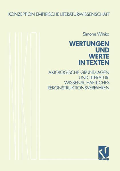 Wertungen und Werte in Texten - Coverbild