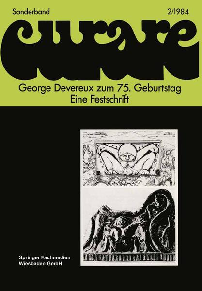 George Devereux zum 75. Geburtstag Eine Festschrift - Coverbild