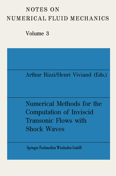 Numerical Methods for the Computation of Inviscid Transonic Flows with Shock Waves - Coverbild