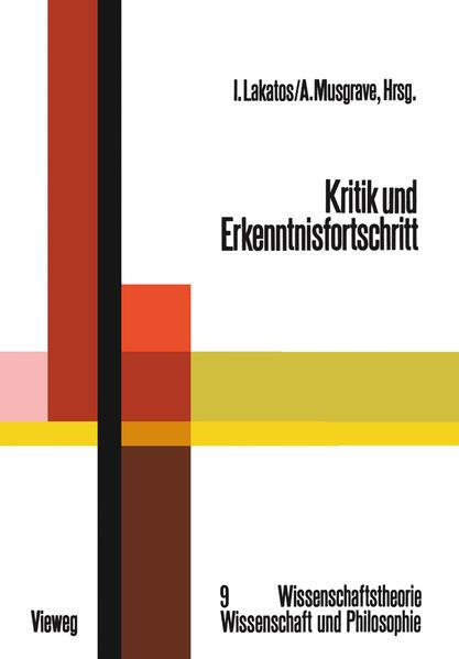Kritik und Erkenntnisfortschritt - Coverbild