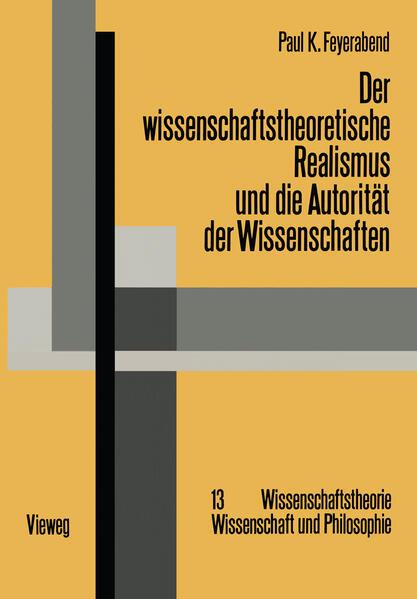 Der wissenschaftstheoretische Realismus und die Autorität der Wissenschaften - Coverbild