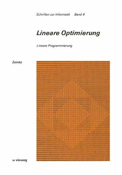 Lineare Optimierung - Coverbild