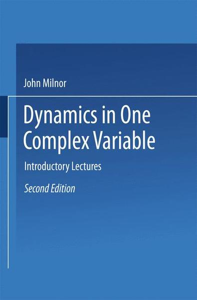 Dynamics in One Complex Variable - Coverbild