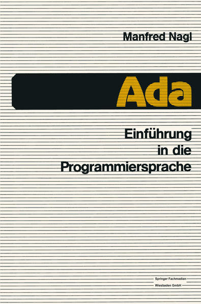 Einführung in die Programmiersprache Ada - Coverbild