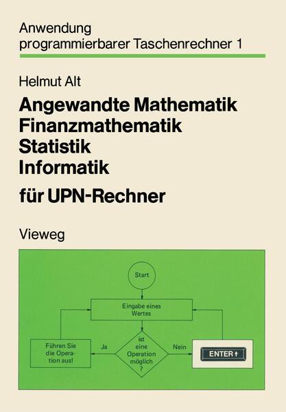 Angewandte Mathematik, Finanzmathematik, Statistik, Informatik für UPN-Rechner - Coverbild