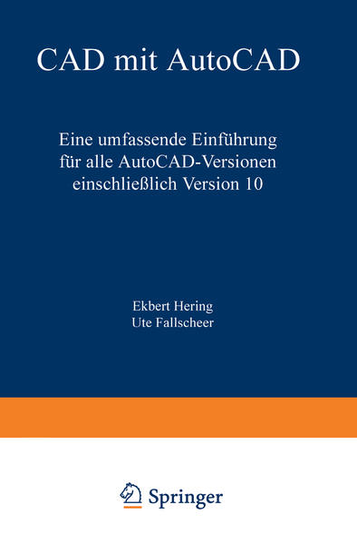 CAD mit AutoCAD - Coverbild