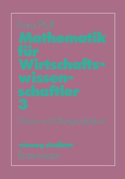 Mathematik für Wirtschaftswissenschaftler - Coverbild
